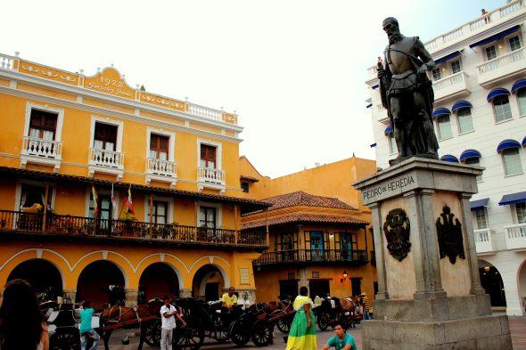 cartagena statue square