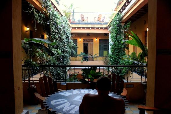 brisa loca courtyard