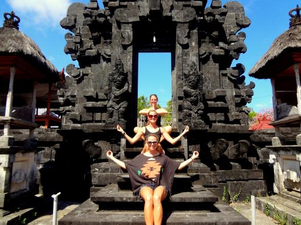 Yoga Temple Pose