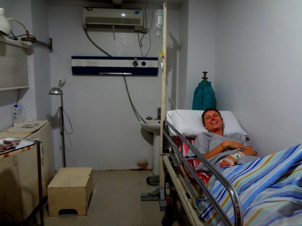 chops hospital room