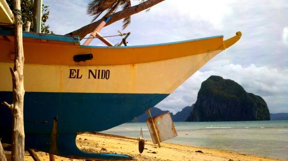 el nido boat shot