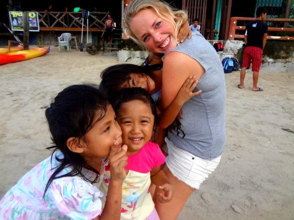 maartj with kiddos