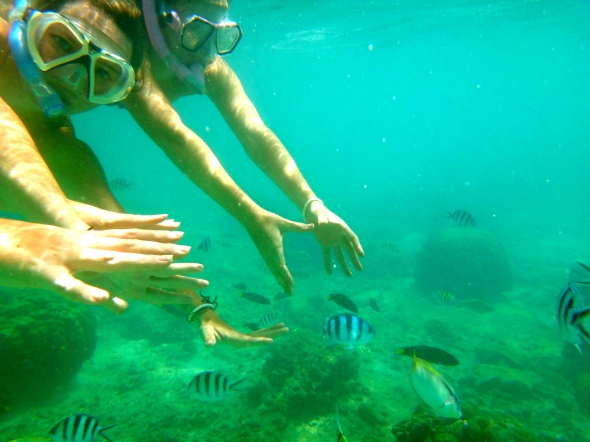 me marj underwater