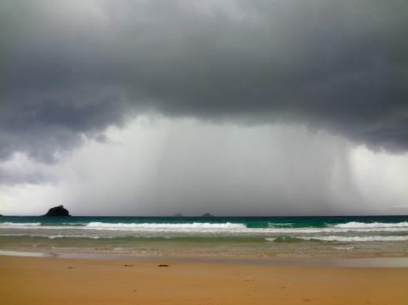 rainy beach 2