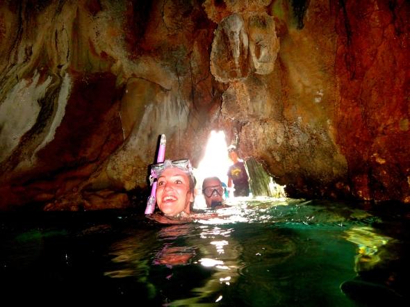 tash swim cave