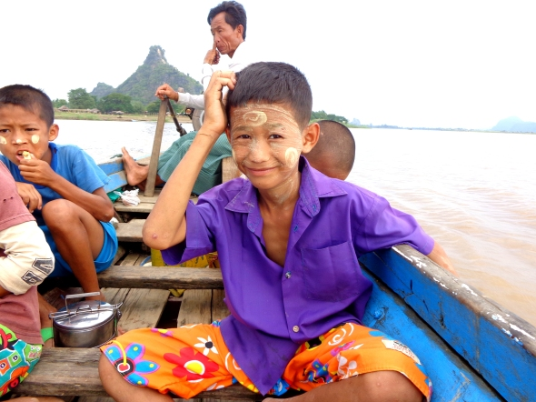kid in boat hpa an