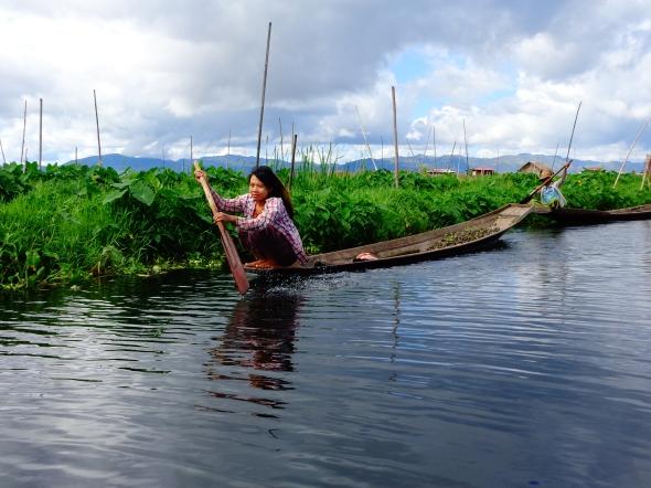 local girl paddling
