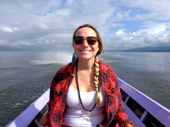 me on boat